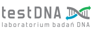 testDNA logo