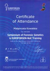 Sympozjum Genetyki Sądowej
