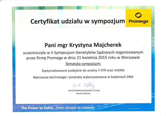 II Sympozjum Genetyków Sądowych